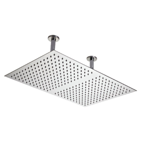 Hudson Reed Chrome Ceiling Mounted Shower Head 600mm x 400mm